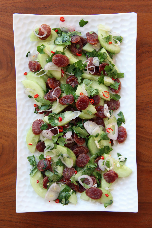Image Gallery sausage salad
