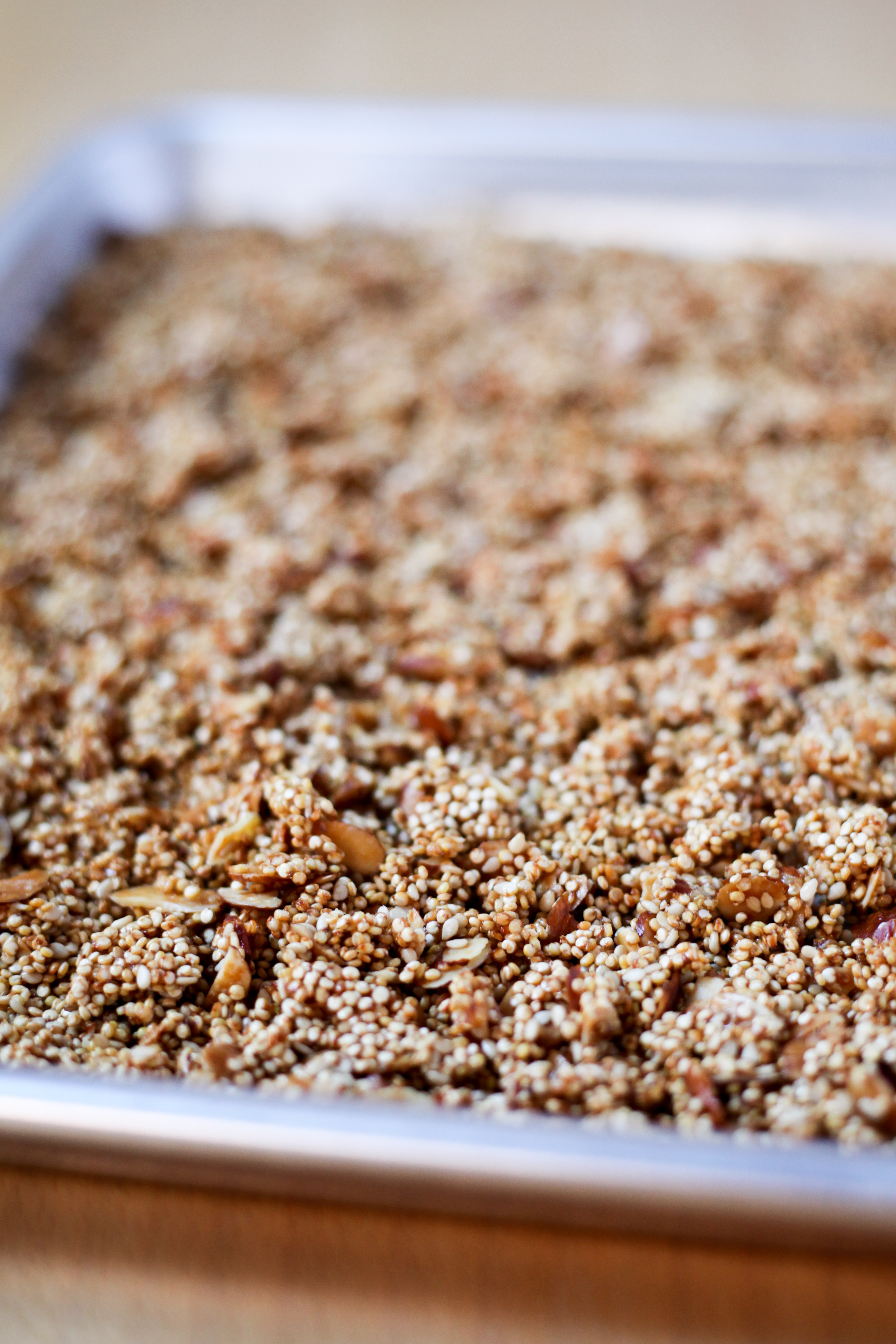 Quinoa crunch