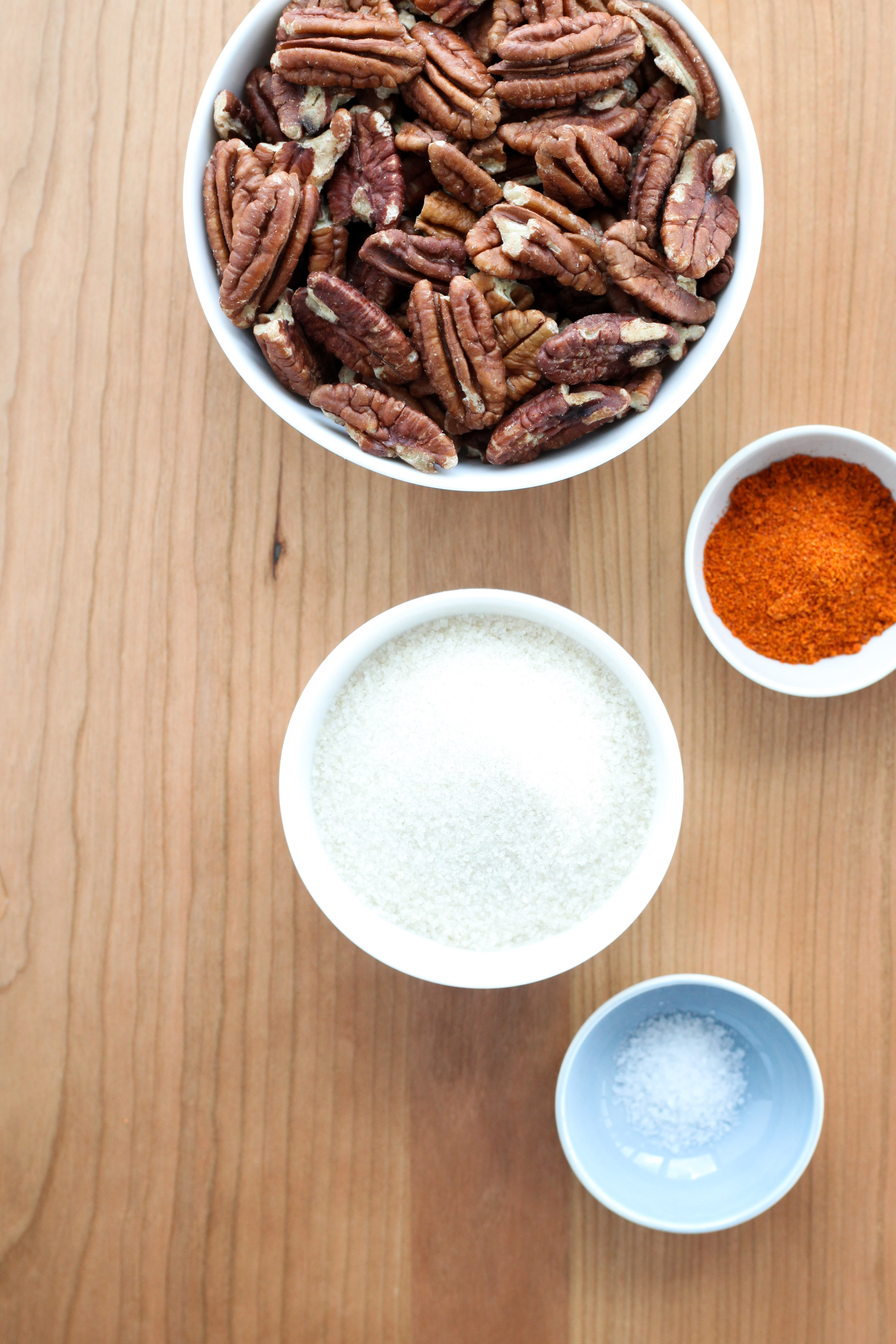 Spicy pecans ingredients
