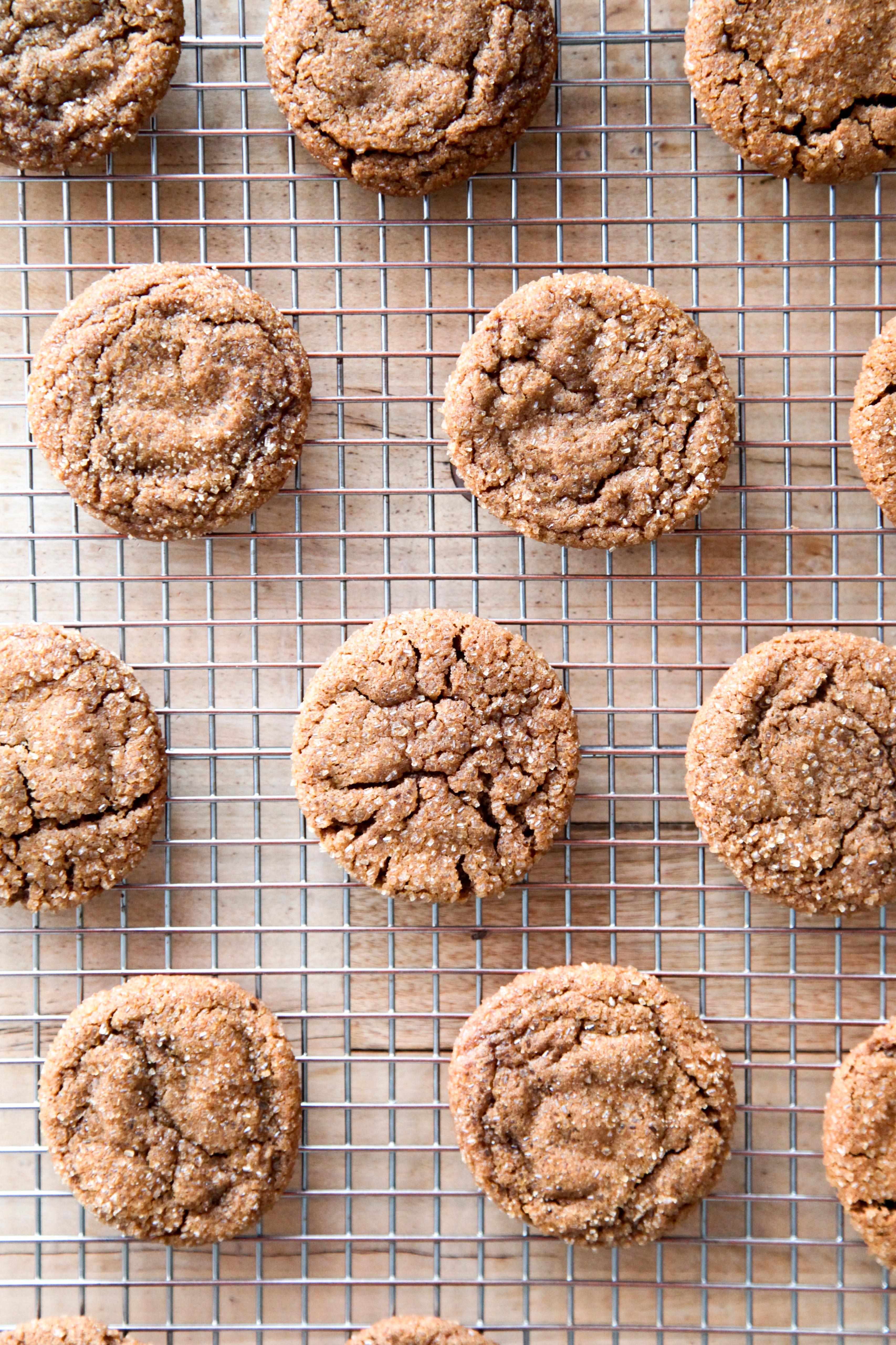 Molasses Spice Cookies | amodestfeast.com | @amodestfeast