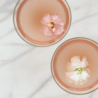 Lillet, Elderflower, and Grapefruit Gin Cocktail | amodestfeast.com | @amodestfeast