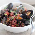 Mussels Puttanesca | amodestfeast.com | @amodestfeast