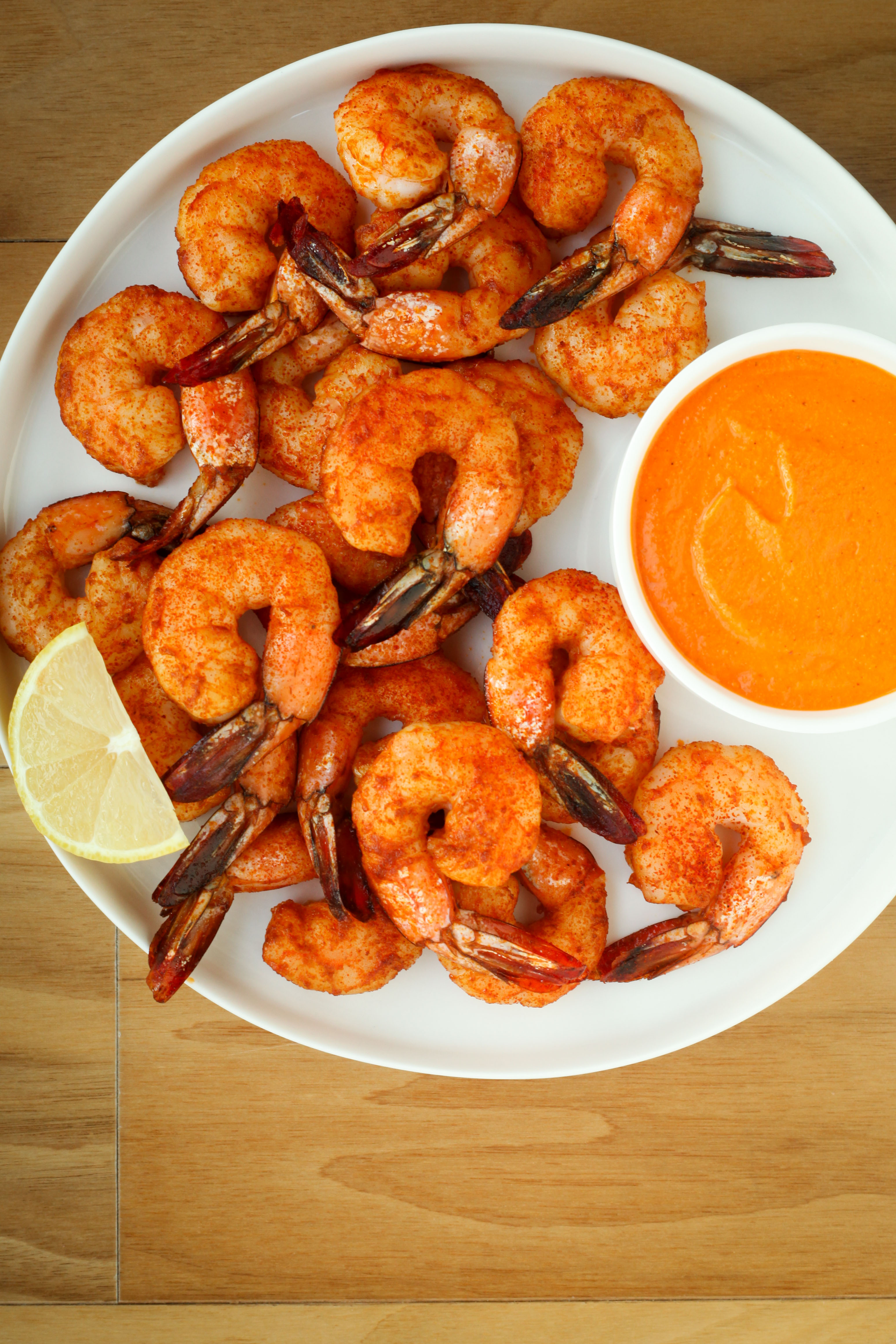 Roasted Catalan Shrimp With Romesco Sauce (Paleo/Whole30) | A Modest Feast | @amodestfeast